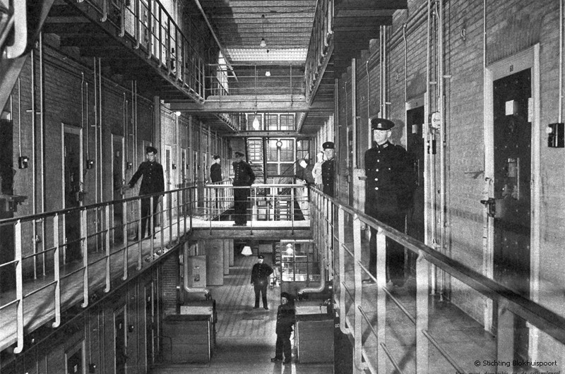 de gevangenis waar Hendrik Jut zat Blokhuispoort te Leeuwarden
